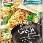 Pełnia smaku w kurczaku dzięki Fix Knorr