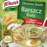 Specjalnie na Wielkanoc – nowy bogatszy smak Barszczu Białego Knorr