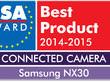Samsung NX30 i GALAXY K zoom nagrodzone przez Europejskie Stowarzyszenie Technik Audiowizualnych (EISA)