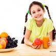 Pięć porcji warzyw i owoców w codziennej diecie dzieci