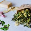 Aromatyczny podwieczorek, czyli pieczone Kalerosse™ z czosnkiem i parmezanem