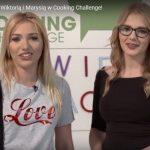 Prawidłowe odżywianie z Wiktorią i Marysią w Cooking Challenge!