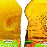 Soki WOSANA w rodzinnych 3 litrowych butelkach