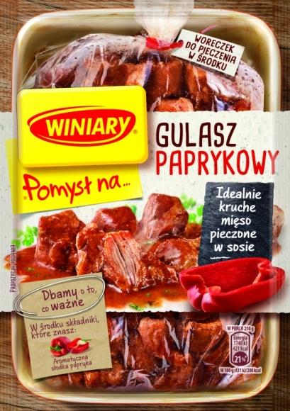 POMYSŁ NA… Gulasz pieczony w sosie - odkryj nowość marki WINIARY! LIFESTYLE, Żywienie - POMYSŁ NA… Gulasz pieczony w sosie - odkryj nowość marki WINIARY!