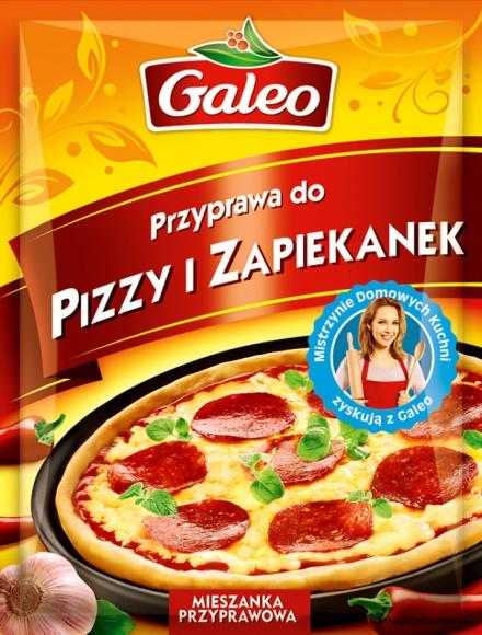 Sekret udanej pizzy z Galeo LIFESTYLE, Żywienie - 9 lutego obchodzimy Międzynarodowy Dzień Pizzy. To proste danie, które dzięki nieskończonej liczbie wersji ma wielu wielbicieli. Z łatwością można je przygotować również samodzielnie. Smaku i aromatu najłatwiej nadać mu za pomocą przyprawy do pizzy i zapiekanek Galeo.