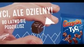 """Grześki z kolejną kampanią reklamową LIFESTYLE, Żywienie - """"Tyci, ale dzielny! Bo łatwo się podzielisz"""" to hasło nowej kampanii reklamowej marki Grześki, promującej kultowe Grześki kakaowe w czekoladzie i nową linię – Grześki Tyci. Działania zaplanowano od 16 lutego br. w telewizji, mediach społecznościowych i kinach."""