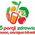 """Ruszyła VII edycja programu """"5 porcji warzyw, owoców lub soku"""""""
