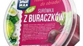 Surówka z buraczków SmakMAK Fresh – kulinarna klasyka w nowoczesnym wydaniu LIFESTYLE, Żywienie - Zachwycająca smakiem, aromatem i intensywną barwą surówka z buraków to niekwestionowana klasyka na polskich stołach.