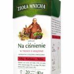 Nowość - Zioła Mnicha na ciśnienie!