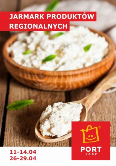 Jarmark pełen wiosennych smaków LIFESTYLE, Żywienie - Port Łódź zaprasza na Jarmark Produktów Regionalnych. Od najbliższej środy do soboty (11-14 kwietnia) na stoiskach wystawców będzie można kupić zdrowe, nieprzetworzone i smaczne lokalne produkty.