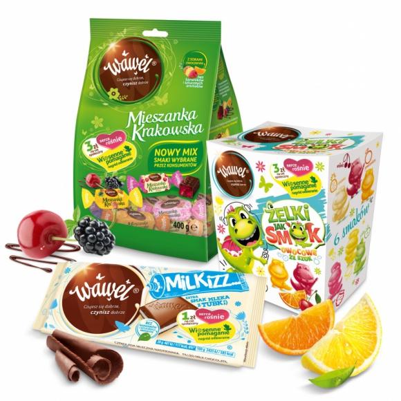Daj się zaskoczyć Wiosennej Ofercie marki Wawel! LIFESTYLE, Żywienie - Daj się zaskoczyć Wiosennej Ofercie marki Wawel!