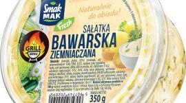 """""""Sałatka bawarska"""" SmakMAK Fresh – idealny dodatek do dań z grilla LIFESTYLE, Żywienie - Grillowanie na działce czy w ogrodzie to jeden z ulubionych przez Polaków sposobów spędzania wolnego czasu w okresie wiosenno-letnim."""