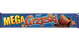 Kaliskie Grześki okrzyknięte Hitem Handlu 2018 LIFESTYLE, Żywienie - Grześki Mega kakaowe w czekoladzie deserowej 48 g of firmy Colian zdobyły tytuł Hit Handlu 2018, przyznawany najlepiej sprzedającym się produktom na polskim rynku.