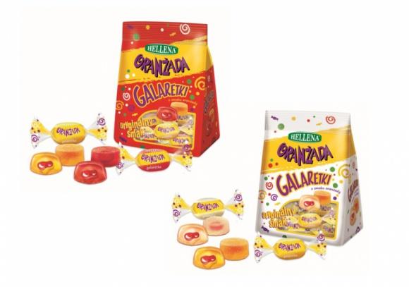 Galaretki nadziewane Hellena o smaku oranżady LIFESTYLE, Żywienie - Kultowa Oranżada Hellena jest już dostępna w nowym formacie. Od teraz jej miłośnicy mogą sięgnąć po moc orzeźwienia w słodkiej postaci Galaretek nadziewanych Hellena o smaku oranżady. Nowości są już dostępne w dystrybucji.