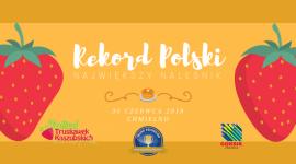 Podczas III Festiwalu Truskawek Kaszubskich będą bić kolejny Rekord Polski LIFESTYLE, Żywienie - To już kolejna, trzecia, edycja Festiwalu Truskawek Kaszubskich. Tym razem w ramach wydarzenia bity będzie Rekord Polski na najdłuższy naleśnik truskawkowy. Do udziału w wydarzeniu zaproszeni są zarówno młodsi jak i starsi.