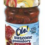 Suszone pomidory z żurawiną w oleju z ziołami OLE!: zainspiruj się kontrastem s