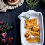 Bezglutenowe paszteciki z pieczarkami marynowanymi z marchewką i cebulą OLE!