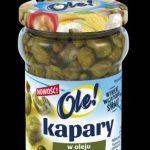 Kapary w oleju z pieprzem marynowanym OLE! – niebanalna propozycja