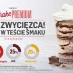MAXymalnie czekoladowy Shake Premium