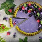 Zielona tarta z musem jeżynowym - przepis kulinarny marki Eisberg