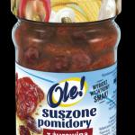 Suszone pomidory z żurawiną w oleju z ziołami OLE!