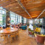 Nowa kawiarnia Green Caffè Nero w warszawskiej centrali Banku Millennium