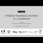 Tydzień Włoskiej Kuchni po raz czwarty!